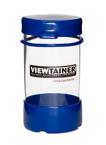 Viewtainer Tethered Cap  <br>    2.75&quot; x 5&quot;   <br>   (7 x 12 cm)