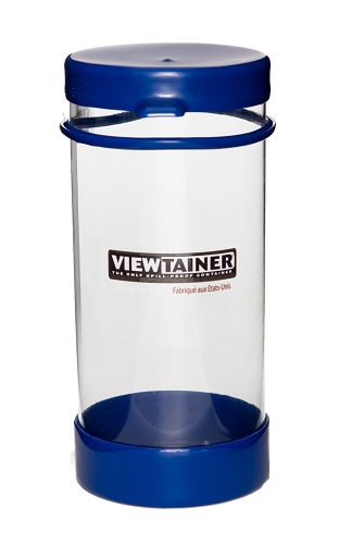 Viewtainer Tethered Cap <br>   3.625&quot; x 8&quot;  <br>  (9 x 20 cm)