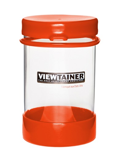 Viewtainer Tethered Cap <br>   3.625&quot; x 6&quot;   <br>  (9 x 15 cm)